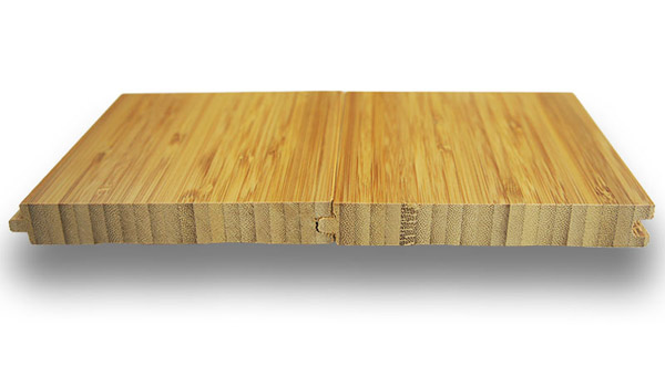 What is vertical bamboo flooring