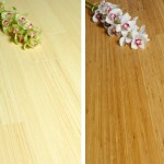 What is the difference between natural and carbonised bamboo flooring?