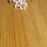 Has carbonised bamboo flooring been stained?
