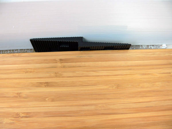 Does bamboo flooring need an expansion gap bamboo floori for Wood floor expansion gap