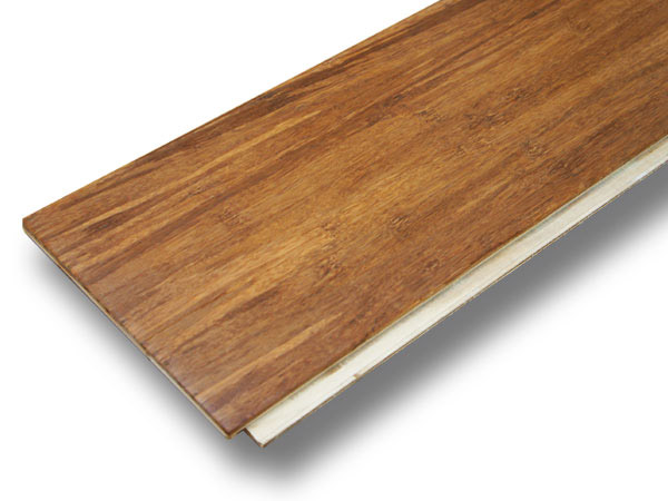 Engineered bamboo flooring plank