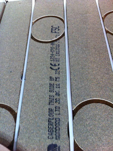 Which bamboo floors are compatible with underfloor heating - pipes