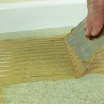 How to fit bamboo flooring onto Chipboard