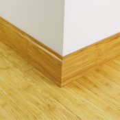 Solid Natural Strand Woven Bamboo skirting board