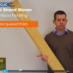 Solid Natural Strand Woven Uniclic Bamboo Flooring Video