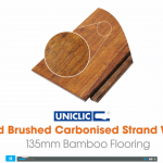 Brushed Carbonised Strand Woven Bamboo Flooring Video