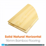 Solid Natural Horizontal Bamboo Flooring Video
