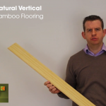 Solid Natural Vertical Bamboo Flooring Video
