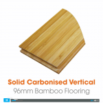 Solid Carbonised Vertical Bamboo Flooring Video