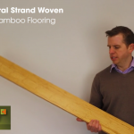 Natural Strand Woven Wide Board Bamboo Flooring Video