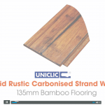 Rustic Carbonised Strand Woven Bamboo Flooring Video