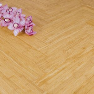 Natural Bamboo Parquet Block flooring