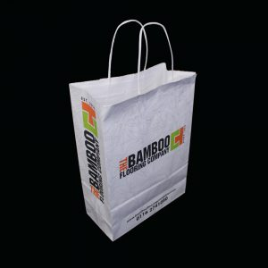 Fully recyclable paper bag