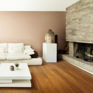The most popular type of bamboo flooring