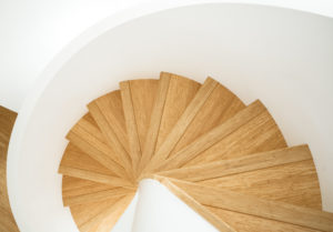 Bamboo on a Staircase