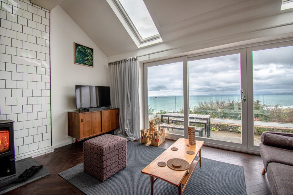 chestnut parquet block bamboo in holiday home